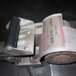 板の表面を磨くローラー