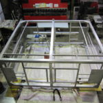 大型製缶 ヘアライン 洗浄機 架台製作 ステンレス架台
