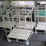 精密機械 機器架台 大型製缶 架台製作