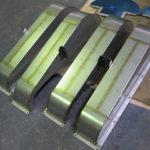 ベルトカバー(酸洗い前) SUSカバー 機械カバー 板金製作