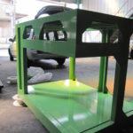 製缶 スチール架台 機械架台 機械フレーム 架台製作