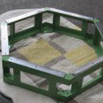 製缶 架台製作 フレーム スチール架台