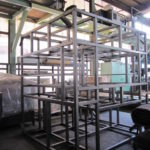 製缶 ステンレス架台 精密機器 架台製作