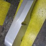 ベルトカバー(酸洗い後) SUSカバー 機械カバー 板金製作