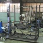 製缶 ホッパー架台 ホッパーフレーム製作